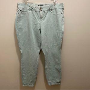 Torrid Light Blue Skinny Jeans